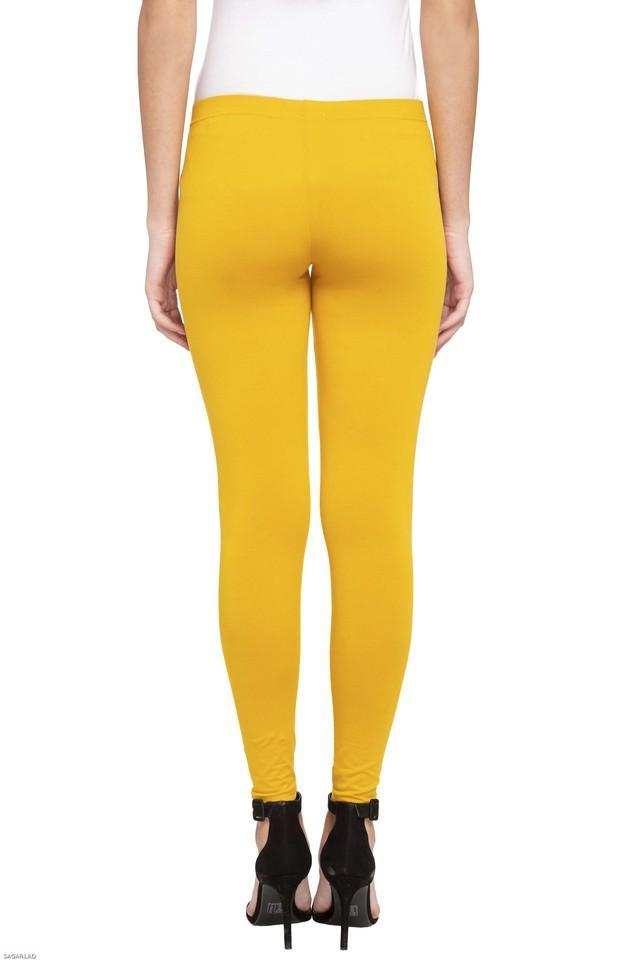 Womens Solid Casual Leggings