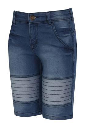 Boys 4 Pocket Washed Shorts