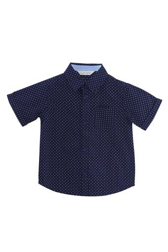 Boys Ditsy Print Casual Shirt