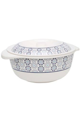 Royal Palmette Round Printed Casserole with Lid