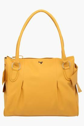 BAGGITWomens Casual Wear Zipper Closure Tote Handbag