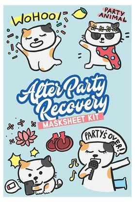 After Party Recovery Masksheet Face Mask Combo Pack of 7
