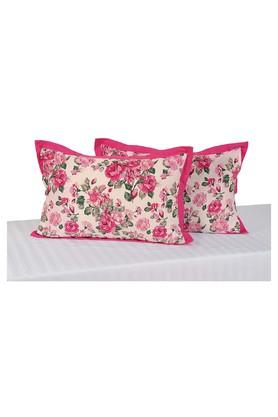 SWAYAM Floral Printed Pillow Cover Set Of 2 - 204589309_9557
