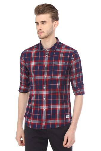 A683 -  Indigo Casual Shirts - Main
