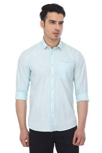 Mens Slub Casual Shirt