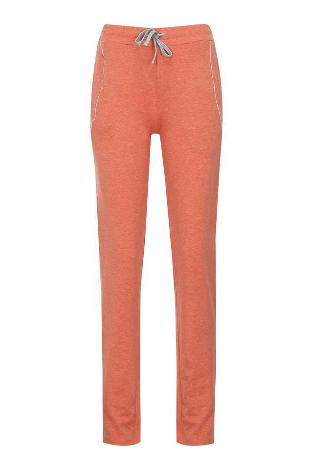 Womens 2 Pocket Slub Track Pants