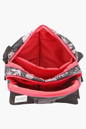 Unisex 2 Compartment Zipper Closure Sling Bag