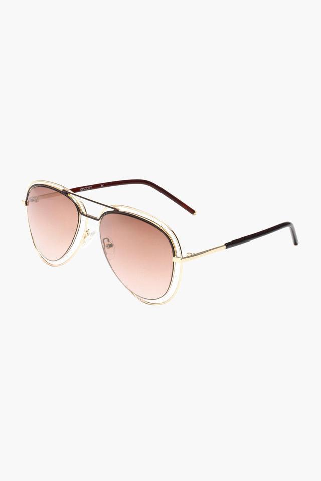 Womens Aviator Polycarbonate Sunglasses - 16 C1 S