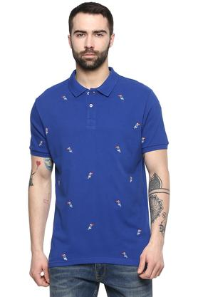 FRATINI - Royal Blue T-Shirts & Polos - Main