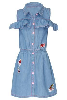 Girls Patch Work Dress
