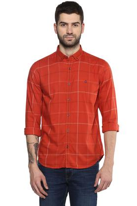 Mens Checked Casual Shirt