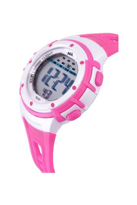 Unisex Plastic Grey Dial Digital Watch - KK210PK