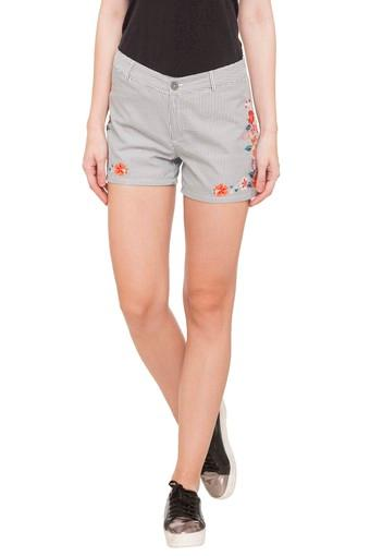 109F -  Grey Capris & Shorts - Main