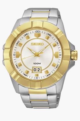 SEIKOMens Lord Analog White Dial Watch - SUR134P1