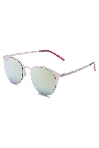 Womens Full Rim Round Sunglasses - 2055 C2 S