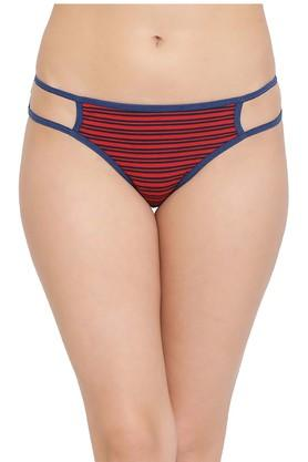 Womens Stripe Bikini Briefs