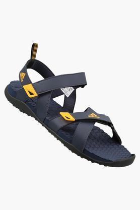 ADIDASMens Synthetic Leather Velcro Closure Sandals - 202993552
