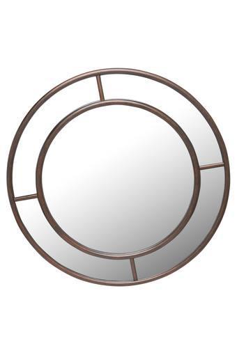 Round Tiffany Wall Mirror