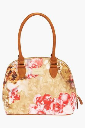 SATYA PAUL Womens Zipper Closure Satchel Handbag - 203029086