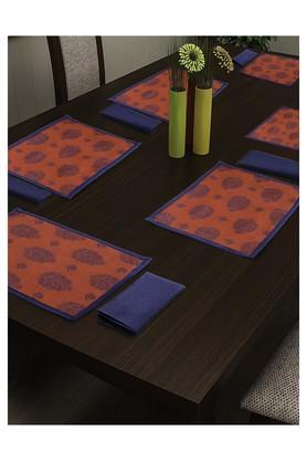 SWAYAMPrinted Place Mat And Napkin Set Of 4 - 204599983_9612