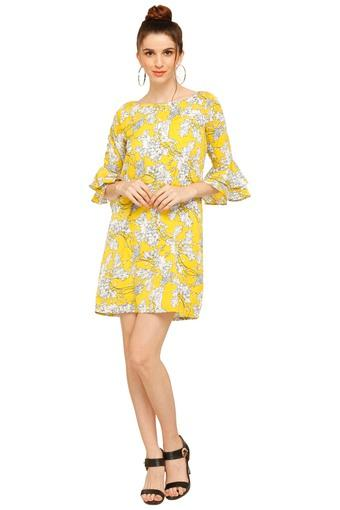 FEMINA FLAUNT -  Yellow Dresses - Main