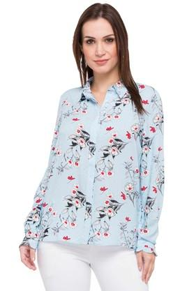 Womens Floral Casual Shirt
