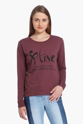 ONLY Womens Round Neck Printed Sweatshirt - 202995074_8758