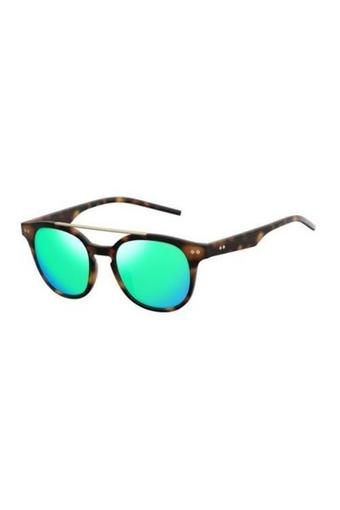 Unisex Browline Polarized Sunglasses