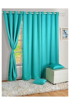 Solid Long Door Curtain
