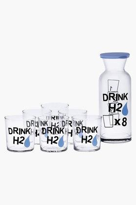 Drink H2O Tumblers and Bottle Set of 7