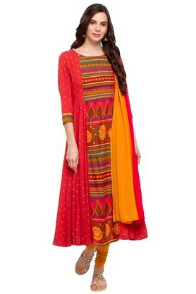 Buy Salwar Suits Churidar Designs Online Shoppers Stop
