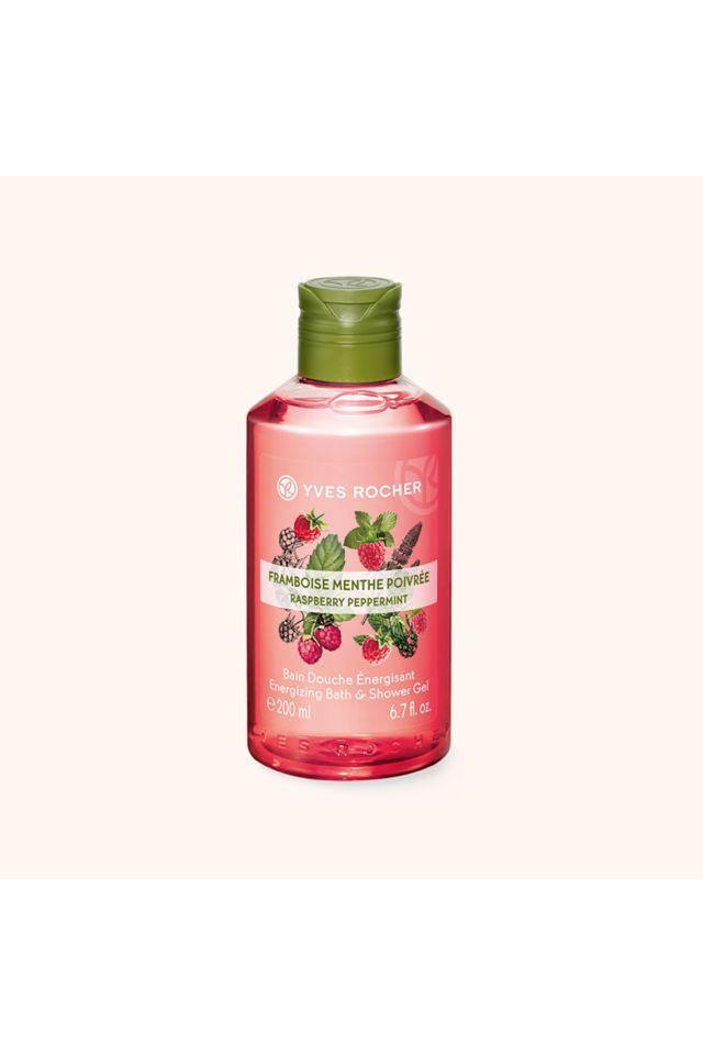 Energizing Bath and Shower Gel - Raspberry Peppermint - 200 ML