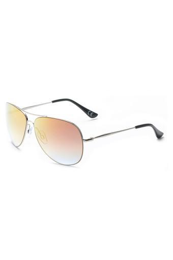Unisex Full Rim Aviator Sunglasses - 3033 C2 S
