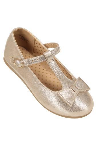 Girls Buckle Closure Ballerinas