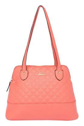 LAVIE Womens Zipper Closure Satchel Handbag - 203435796