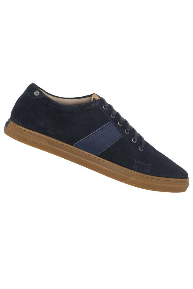 Mens Suede Lace Up Sneakers