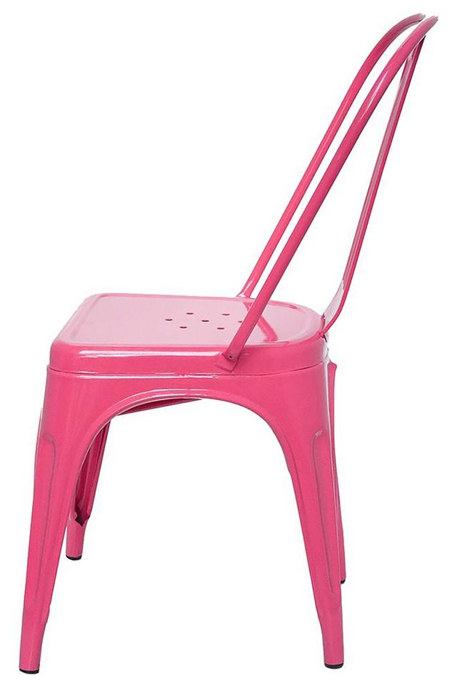 Pink Stylo Chair