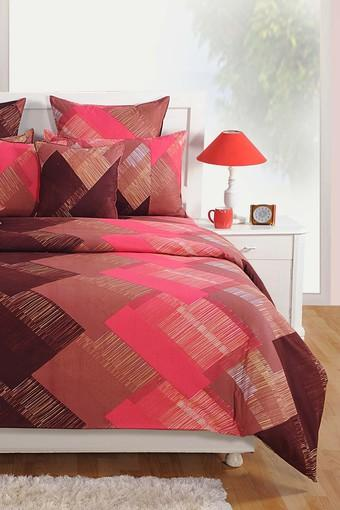 SWAYAM -  Brown Bed Sheets - Main