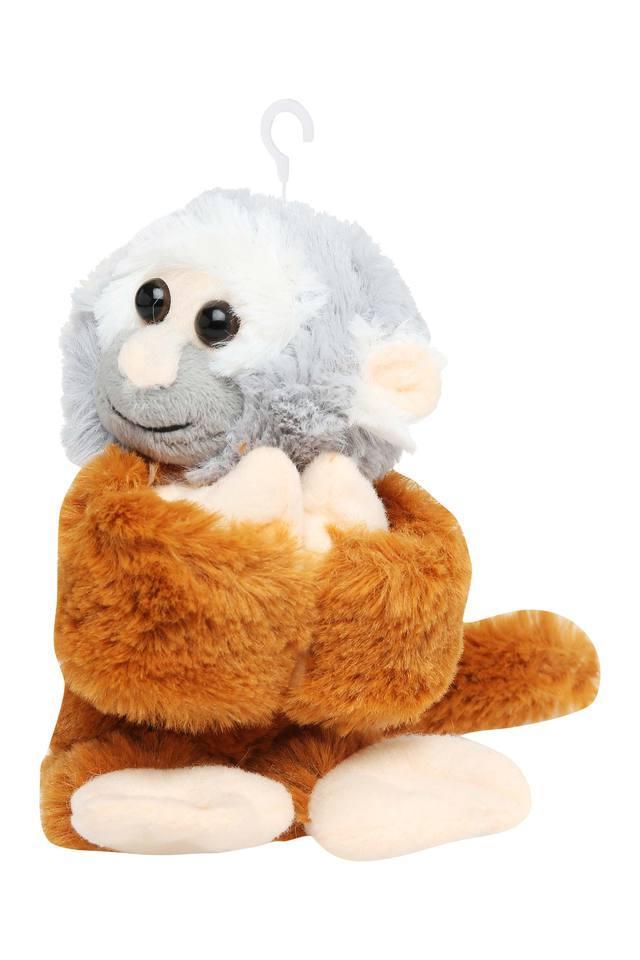 Kids Huggers Squirrel Monkey Soft Toy
