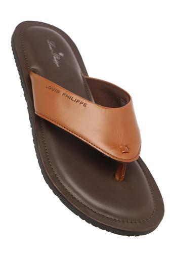 LOUIS PHILIPPE -  Brown Sandals & Floaters - Main