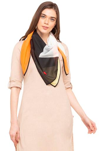 Womens Colour Block Scarf