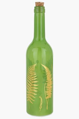 IVYPrinted Bottle Lamp With Cork