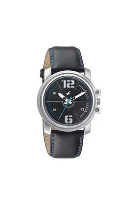 Mens Black Dial Analogue Watch - 3039SL09