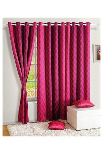 SWAYAM -  Pink Curtains - Main