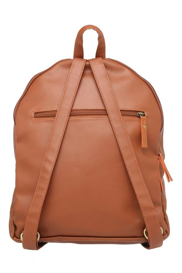 Womens 2 Compartment Zip Closure Backpack