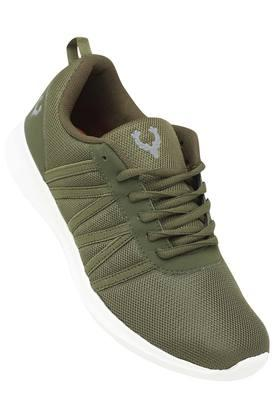Mens Mesh Lace Up Sneakers