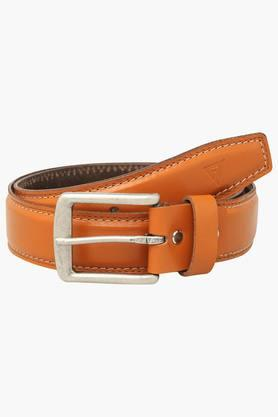 VETTORIO FRATINI Mens Leather Buckle Closure Casual Belt - 203362219