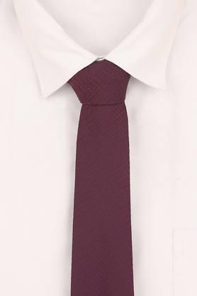Mens Self Print Formal Tie