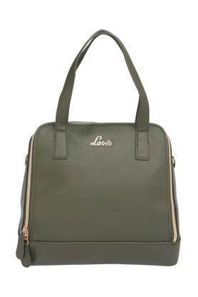 LAVIE Womens Zipper Closure Satchel Handbag - 203839743