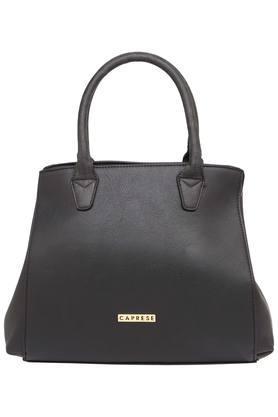 CAPRESEWomens Zipper Closure Satchel Handbag - 203937392_9212